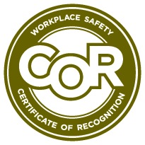Partners in Injury Reduction -  PIR Certificate of Recognition Logo from Alberta WCB